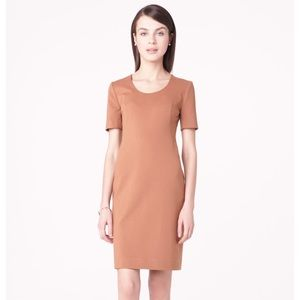 M M Lafleur Michaela Cinnamon Short Sleeve Dress 8